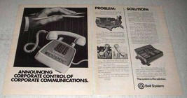 1978 Bell Electronic Tandem Switching ETS Ad - Control - $14.99