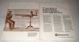 1978 Bell Laboratories Ad - Before We Invented Laser - $14.99