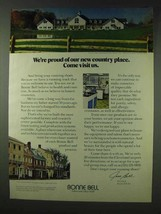 1978 Bonne Bell Cosmetics Ad - Proud of Country Place - $14.99