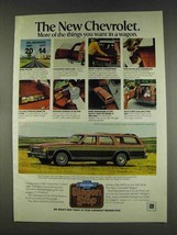 1978 Chevy Caprice Classic Wagon Ad - Things You Want - $14.99