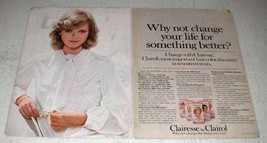 1978 Clairol Clairesse Hair Color Ad - Something Better - $14.99