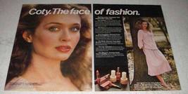 1978 Coty Makeup Ad - Bare Blusher, Silksticks - $14.99