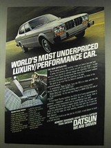 1978 Datsun 810 car Ad - Most Underpriced - $14.99