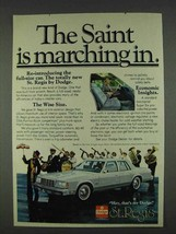 1978 Dodge St. Regis Ad - Saint Is Marching In - $14.99