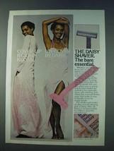 1978 Gillette Daisy Razor Ad - Cover-up By John Kloss - $14.99