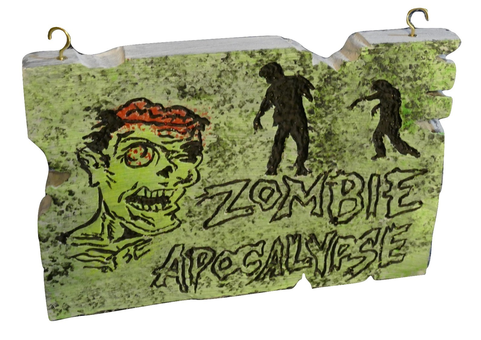 Zombie Apocalypse Sign Hand Carved Foam Halloween Decor. Decorative Towels For Bathroom Ideas. Laundry Room Cabinet Ideas. Wooden Letter Wall Decor. Pink And Gold Bedroom Decor. Cheap Dining Room Furniture Sets. Discount Dining Room Furniture. Cute Decor. How To Decorate A Living Room