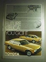 1978 Toyota Celica GT and ST Sport Coupe Ad - $14.99