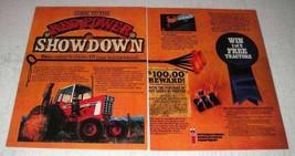 1978 International Harvester 1586 Tractor Ad - Showdown - $14.99