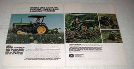 1978 John Deere 850 and 950 Tractors Ad - Works Like - $14.99
