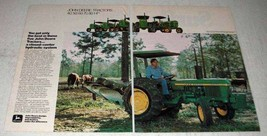 1978 John Deere Tractor Ad - You Get Only the Best - $14.99