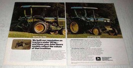 1978 John Deere 850 and 950 Tractors Ad - Reputation - $14.99