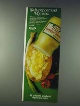 1978 Kraft Grated Romano Cheese Ad - $14.99