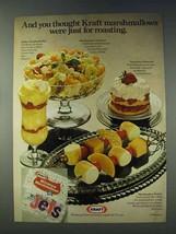 1978 Kraft Miniature Marshmallows Ad - For Roasting - $14.99