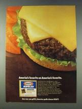 1978 Kraft Singles Ad - America's Favorite - $14.99