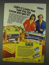 1978 Kraft Light n' Lively Cheese Ad - Come Get It - $14.99