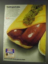 1978 Kraft Singles Cheese Ad - Frankly Good Value - $14.99
