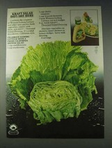 1978 Kraft Thousand Island Dressing Ad - Salad Days - $14.99