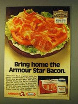 1979 Kraft Miracle Whip and Armour Star Bacon Ad - $14.99