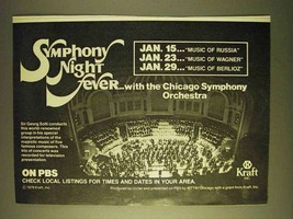 1979 Kraft PBS Symphony Night Fever Ad - $14.99