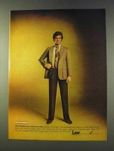 1979 Lee Blazer, Pants and Shirt Ad - Your Tailor - $14.99