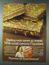 1978 Pillsbury Figurines Ad - Dieting Never So Sweet - $14.99