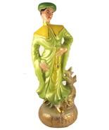 Vintage midcentury Asian Chinese gentleman cera... - $30.00