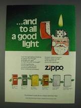 1978 Zippo Cigarette Lighter Ad - To All a Good Light - $14.99