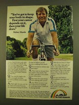 1979 AMF Bicycle Ad - Mickey Mantle - $14.99