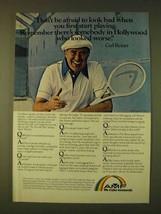 1979 AMF Tennis Rackets Ad - Carl Reiner - $14.99