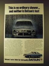 1979 Datsun Cars Ad - This is no Ordinary Shower - $14.99