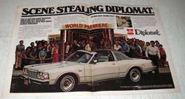 1979 Dodge Diplomat Ad - Scene Stealing Diplomat - $14.99