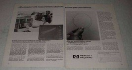 1979 Hewlett-Packard Ad - Flexible GC Capillary Column - $14.99