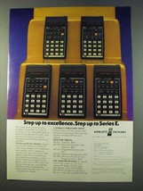 1979 Hewlett-Packard Calculator Ad - HP-33E HP-37E - $14.99