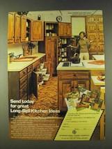 1979 International Paper ChefBlok Long-Bell Cabinet Ad - $14.99