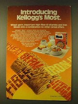 1979 Kellogg's Most Cereal Ad - Introducing - $14.99