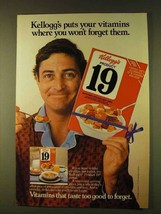 1979 Kellogg's Product 19 Cereal Ad - Your Vitamins - $14.99