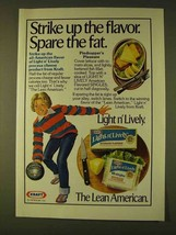 1979 Kraft Light n' Lively Cheese Product Ad - $14.99