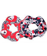 New England Patriots Red Blue Fabric Hair Scrunchies by Sherry NFL Lot ... - $13.95