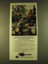 1980 John Deere Chain Saw Ad - This Boy of Mine's - $14.99