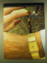 1980 Piaget Watch Ad - Hand and Case in 18K Gold - $14.99