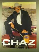 1980 Revlon Chaz Cologne Ad - As Interesting - $14.99