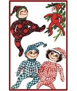 "Vintage Pattern for Three 16"" Pixie Dolls - $7.99"