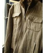 Ben Sherman 4XL WINTER JACKET FULL ZIPPER brown WHITE - $21.20
