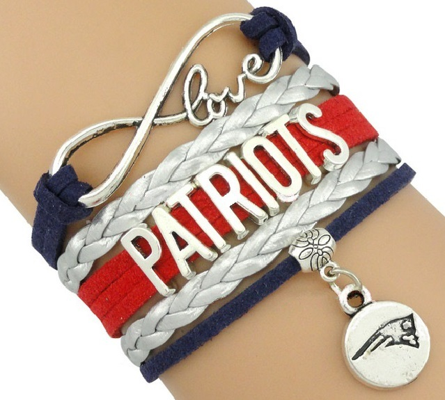 BOSTON Sports Bracelet 3 Pack Gift Special - Red Sox, Patriots AND Bruins