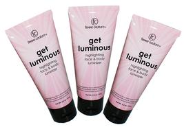 Femme Couture Get Luminous Highlighting Face Body Luminizer Pink Sparkle... - €16,35 EUR