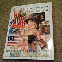 2000 USPS Stamp Yearbook in  HARDCOVER BOOK ONLY, no stamps! - $12.19
