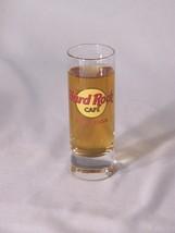 "HARD ROCK CAFE San Juan Shot Glass 4"" tall - $9.95"