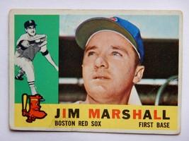 Jim Marshall #267 1960 Topps Baseball Card (Boston Red Sox) - $2.49