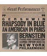 Gershwin: Rhapsody in Blue / An American in Paris [Vinyl] Leonard Bernst... - $30.00