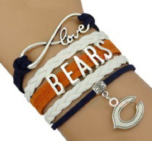 CHICAGO Sports Bracelet 3 Pack Gift Special - Bears, White Sox AND Blackhawks!